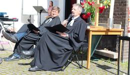 Campingstuhl statt Kanzel: Gemeinsamer Open-Air-Gottesdienst