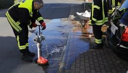 Für die Sicherheit der Bürger: Hydranten winterfest gemacht