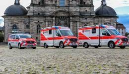 Malteser und Bistum Fulda spenden Krankenwagen in die Ukraine