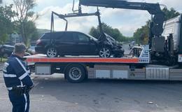 Schwerer Auffahrunfall auf dem Westring: drei Verletzte