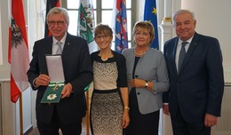 Bouffier erhält Großes Goldenes Ehrenzeichen des Landes Steiermark