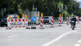 Noch in diesem Jahr: Viele Baustellen mit Auswirkungen auf den Verkehr