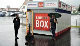 Leinweber-Baustoffbox in Schlüchtern ist umgezogen