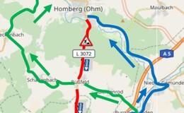 Straßenbauarbeiten an der L3072: Vollsperrung erforderlich