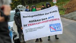 A49-Gegner fordern Baustopp: Gravierende Mängel beim Trinkwasserschutz