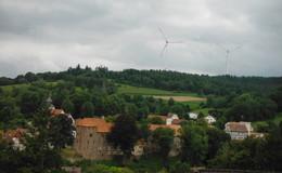 SPD-Fraktion besichtigt Windpark Buchenau