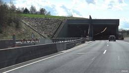 A 66: Sanierung der Fahrbahndeckschicht am nördlichen Tunnelportal