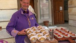 Genusswochen 2021 diesmal im Schlosshof - Kulinarik unter dem Magic Sky