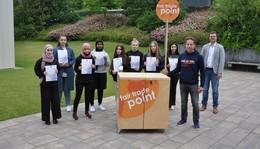 Nachhaltig: Ehrung der Weltladen AG-Mitglieder der Eduard-Stieler-Schule
