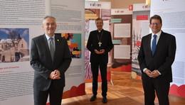 Tafelausstellung zur Bewerbung um das Europäische Kulturerbe-Siegel