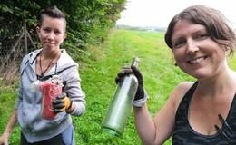Clean Up Alsfeld: Freiwillige sammeln rund 400 Liter im Wald