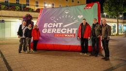 DGB-Pendleraktionstag Fulda: Die gesetzliche Rente stärken!
