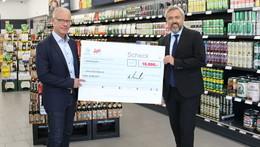 10.000 Euro-Spende für Geschädigte der Unwetterkatastrophe