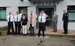 Vom Container zurück ins Hauptgebäude: Umbau der Polizeistation beendet