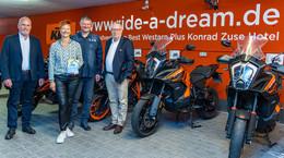 Ein Herz für Biker: Best Western Plus Konrad Zuse Hotel ausgezeichnet