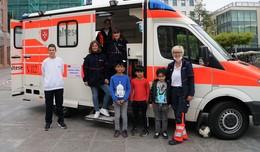 Weltkindertag am Universitätsplatz: Malteser startet mit buntem Programm