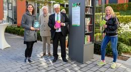Neu: Offener Bücherschrank an der Neue Mitte