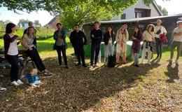 Studentengruppe aus den Niederlanden zu Besuch im beschaulichen Hönebach