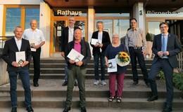 Goldener Haunetaler für langjährige Kommunalpolitiker