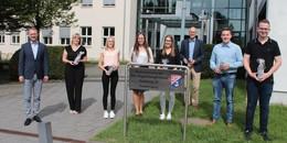 Karrierezug Kreisverwaltung: Ausbildung erfolgreich absolviert