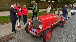 Tolle Fiat-Raritäten zu Besuch - Ausflug in die Rhön und Kulturprogramm