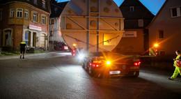 XL-Schwertransporte für K+S durch Vogelsberg