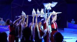 Zirkus SIMSALABIM macht Schüler der Fliedetalschule zu Akrobaten