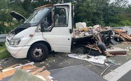 Nach Auffahrunfall auf der A66: Drogen verteilen sich über die Autobahn