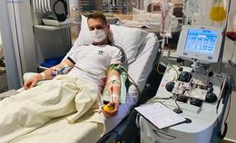 Stammzellenspende: Polizist Richard Schön hilft einer jungen Argentinierin