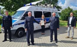Nach 46 Dienstjahren: Dieter Menigat bei der Bundespolizei verabschiedet