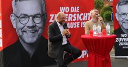 Ex-SPD-Chef Schulz besucht Kalistadt: Europa kommt im Wahlkampf zu kurz