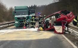 Nach schweren Unfällen auf der B254: Knotenpunkte werden neu überprüft