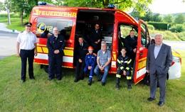 Wichtige Investition: Feuerwehr hat neuen Einsatzleitwagen in Dienst gestellt