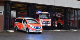 Wegen Bauarbeiten an Hauptzufahrt: Feuerwehr rückt über den Wiesenweg aus