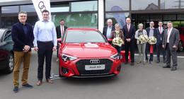 Drei Gewinner: Für 6 Euro - Audi A3 Sportback von der Sparkasse