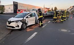 Unfall in Künzeller Turmstraße: Pkw beim Abbiegen übersehen
