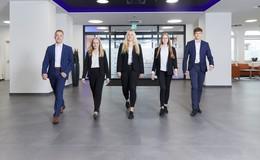 Ausbildungsstart 2021 bei der VR-Bankverein Unternehmensgruppe