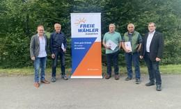 Klaus Müller, Hermann Heinbach und Günther Heil erhalten Landesehrenbrief