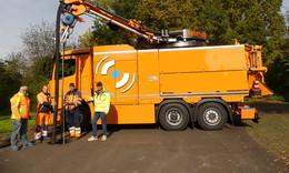 Neues Spülfahrzeug für den Abwasserverband Fulda