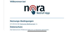 Bundesweite Notruf-App Nora: Für Menschen mit Sprach- und Hörbehinderung