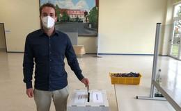Gießener und Vogelsberger haben gewählt - Felix Döring (SPD) vorne