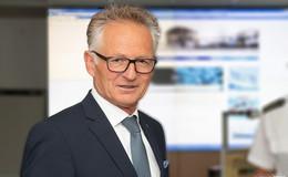 Polizeipräsident Günther Voß wird heute 65 Jahre alt
