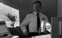 Die Polizei trauert um Frank Uffelmann (59), Leiter der Polizeistation Schlüchtern