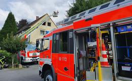 Dachstuhlbrand in Staatsbad: Wohnräume nicht mehr bewohnbar