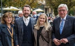 Vera Vogt und Max Dudyka sind die Einheitsbotschafter 2021 für Hessen
