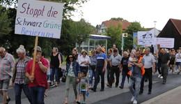 Arsen-Problem: 250 Menschen gehen in Richelsdorf auf die Straße