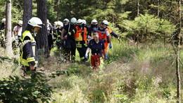 Pilz-Sammler verletzt sich im Wald: Feuerwehreinsatz im Seulingswald