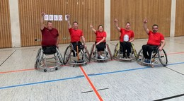 Rollstuhlbasketball auf hohem Niveau
