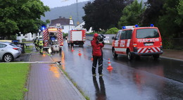 Starke Regenfälle in Rotenburg: 41 Einsätze bereits für die Feuerwehren