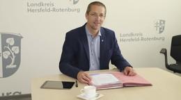 Landrat Dr. Michael Koch (CDU) wird Direktor beim Hessischen Landkreistag